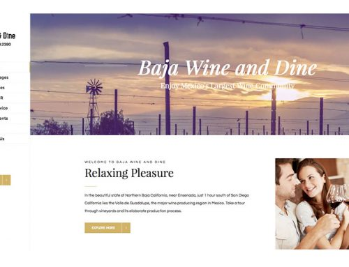 Baja Wine and Dine
